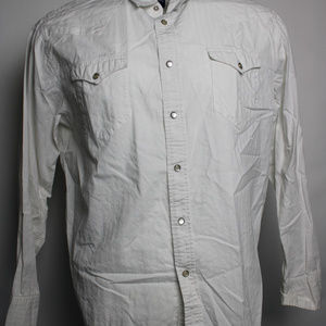 Aeropostale Large Long Sleeve Button Up Shirt